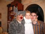 Новогодний Мышь, Арина, дядя