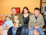 Дедуля, папа, мама и братик