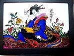 Japan роспись по стеклу