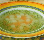 Сливочный суп с морковью.