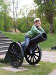 Хранитель пушки или просто пушкарь ))