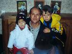 Папа с детками!