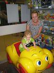 Дочка впервые села за руль автомобиля!