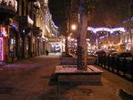 ночной предновогодний город