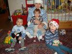 мои племянники , сынулька и сестра