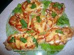Куриные отбивные с помидорами и болгарским перцем