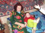 С бабушкой после баньки
