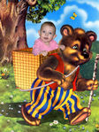 Лизонька и Медведь