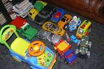 Мальчик подрос - увеличились и игрушки!