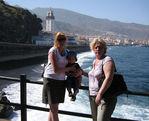 Ваня с мамой и бабушкой
