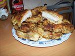 отбивное мясо в ореховой муке