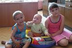 Данюха с двоюрдным братиком и сестренкой)