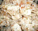 Куриное филе с рисом и овощами в микроволновке
