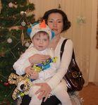 С мамой))