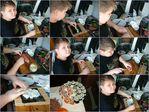 Коля готовит ролы, для праздничного стола