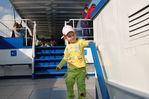 На палубе речного трамвайчика