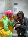 С Клоунессой на празднике детства