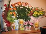 Столько цветов мне ещё не дарили...