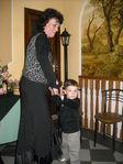 Танцуем с бабулей на её юбилее.