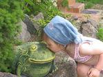 А это наша лягушечка!