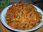 фунчёза ( овощно-мясной салат)