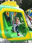 Захар уже научил управлять вертолетом