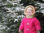 Первый снег и моя снегурочка