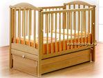 Детская кроватка Гандылян Людмила (маятник продольный)