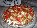 торт морковная грядка