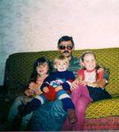 Папа и дочки