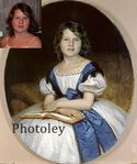 Фотоколлаж.Детский портрет