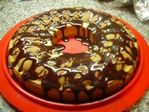 Кекс с кусочками шоколада