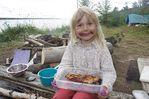 Карелия, Острова в белом Море / Марина и пироги с черникой