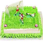Торт «Футбольное поле»