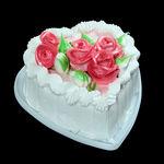 Торт «Сердце Валентина»