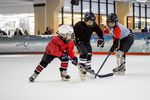 Групповая тренировка школы хоккея RUSH