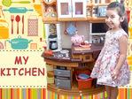 Лейла готовит и рассказывает о своем наборе.