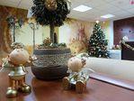 Новогодний холл Детского Центра «ЛОГОС»