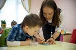 Занятия по подготовке к школе в Детском Центре «ЛОГОС»