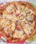 Пицца на слоеном тесте!