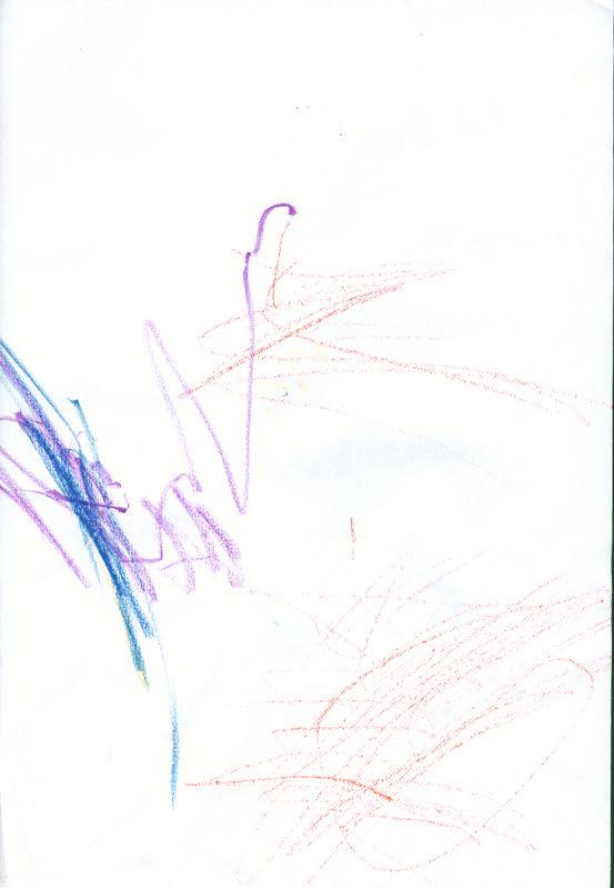 Первый рисунок пастельками