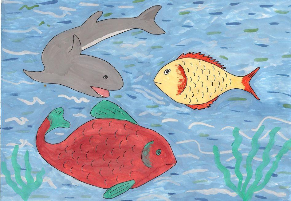 Рисунок подводного