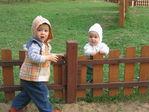 малыш на пикнике
